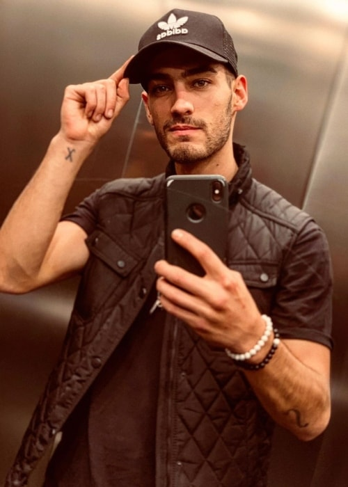 Michel Duval as seen in a selfie taken in October 2019