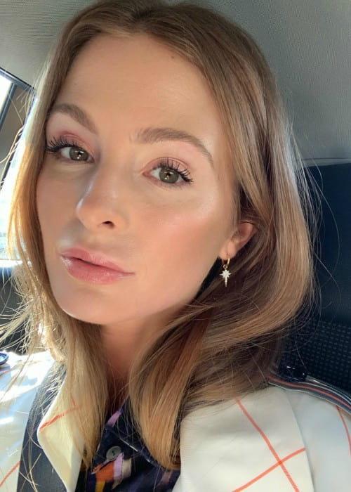 Millie Mackintosh in an Instagram selfie as seen in February 2019