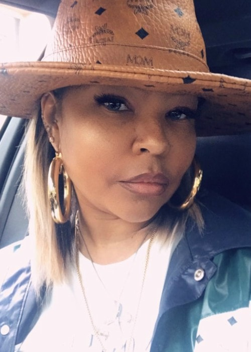 Misa Hylton Brim in an Instagram selfie as seen in October 2019