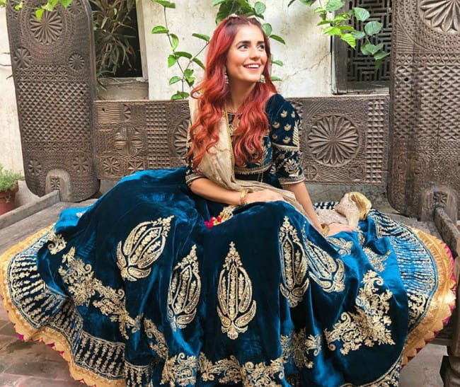 Momina Mustehsan in an Instagram post in October 2019