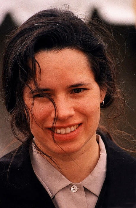 Natalie Merchant during Earth day celebration in April 1995
