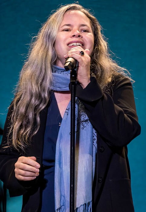 Natalie Merchant during a performance in Santa Barbara California in July 2017