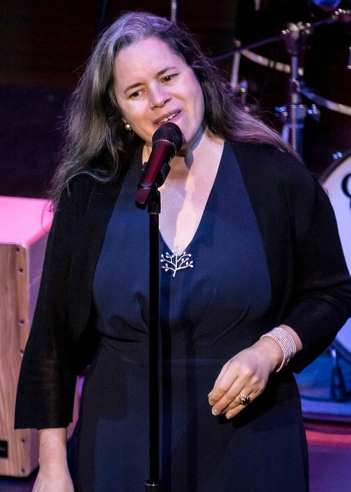 Natalie Merchant performing live in Copley Symphony Hall at Jacobs Music Center in July 2017