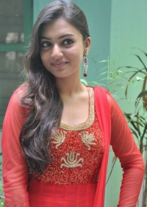 Nazriya Nazim as seen in a picture taken at the Neram audio launch in May 2013