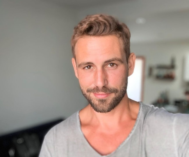 Nick Viall as seen while taking a selfie in September 2019