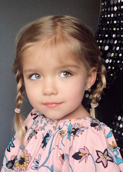 Oakley Fisher as seen in a picture in July 2019