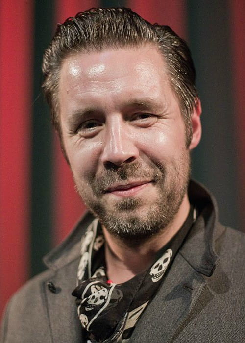 Paddy Considine during an event in October 2011