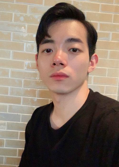Park Min-soo in a selfie in June 2019