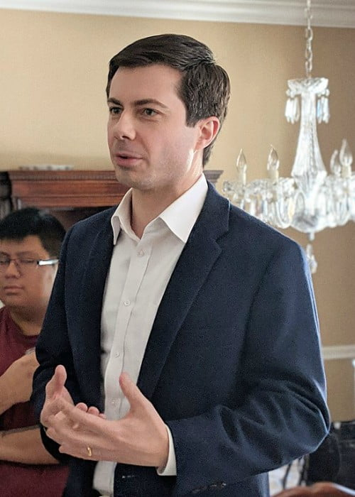 Pete Buttigieg as seen in February 2019