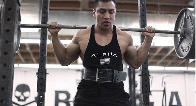 ProFitness Genuine Leather Belt Workout