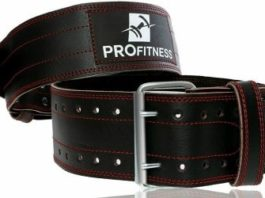 ProFitness Genuine Leather Workout Belt Review