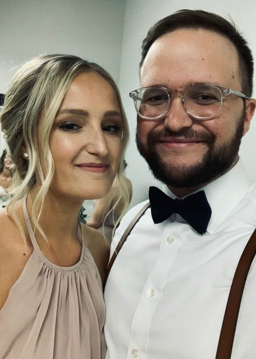 Quinn XCII and Macy Temrowski in a selfie in September 2019