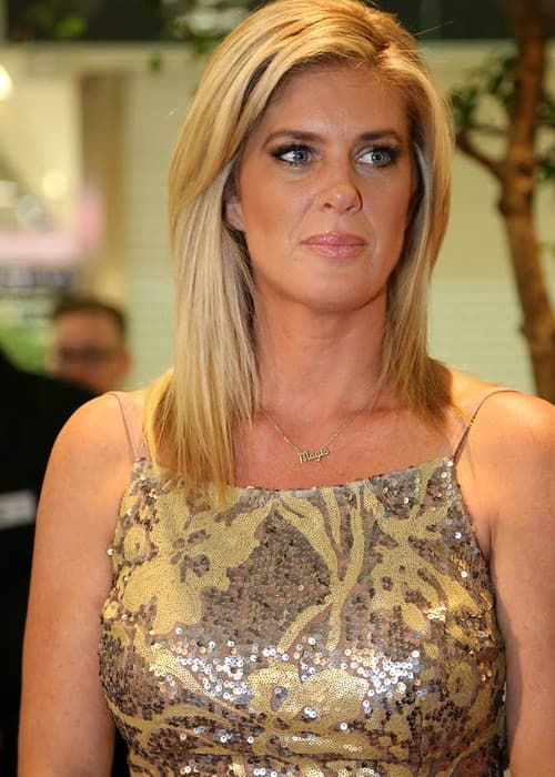 Rachel Hunter during an event in May 2013