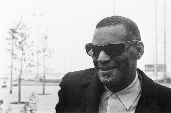 Ray Charles as seen in October 1968