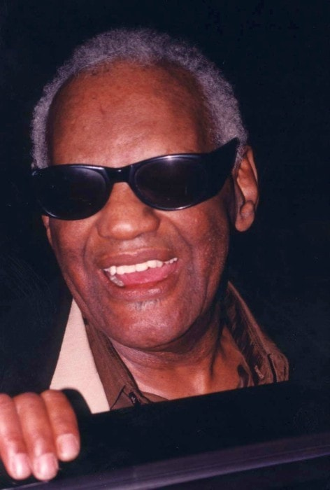 Ray Charles at Joseph Meyerhoff Symphony Hall in October 1994