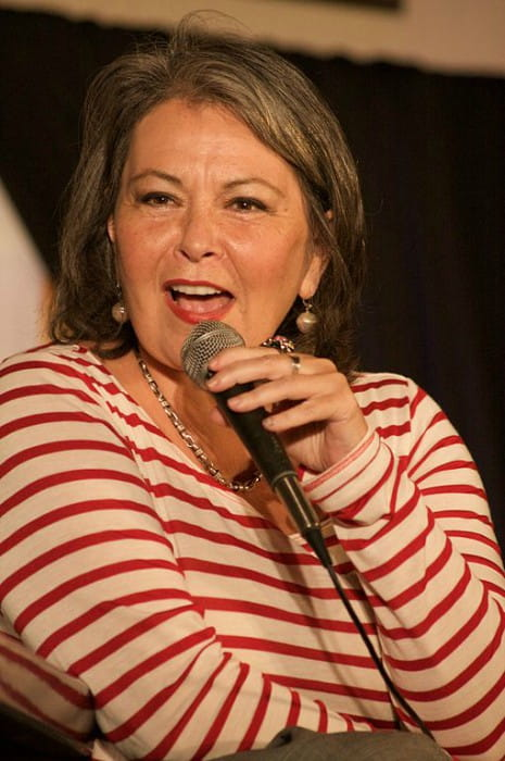 Roseanne Barr at the Hard Rock Cafe in January 2010