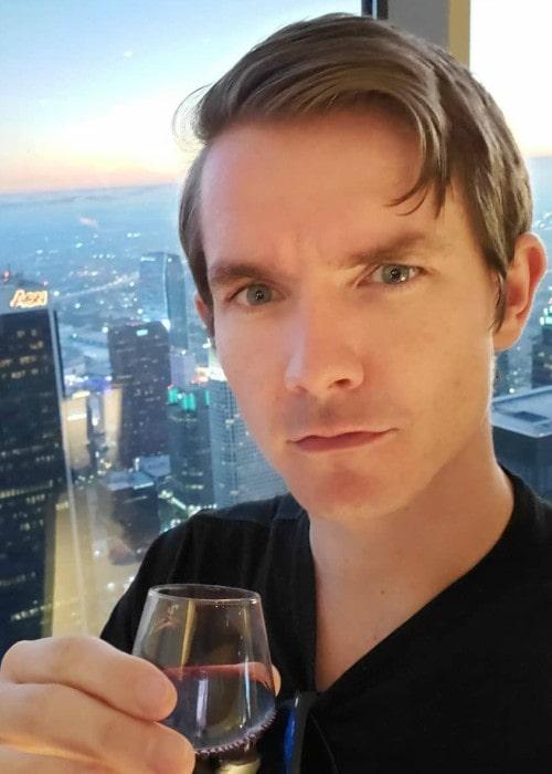 Ross O'Donovan in an Instagram selfie as seen in August 2019