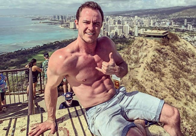 Ryan Kelley as seen in January 2019