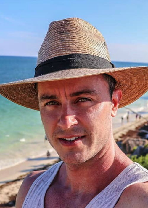 Ryan Kelley in an Instagram selfie as seen in November 2018