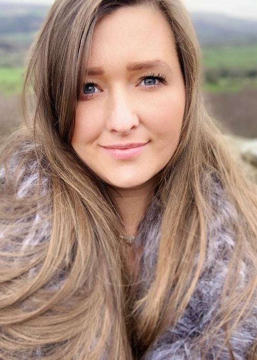 Sarah Ingham as seen in a selfie taken in March 2019