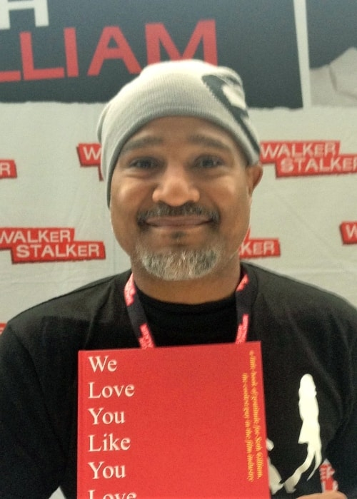 Seth Gilliam as seen while smiling for a picture in March 2018