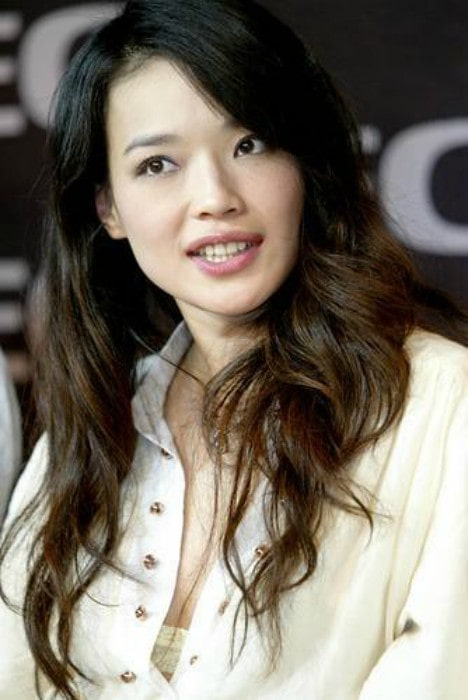 Shu Qi during an event in March 2006