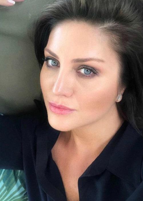 Sibel Can in an Instagram selfie as seen in September 2019