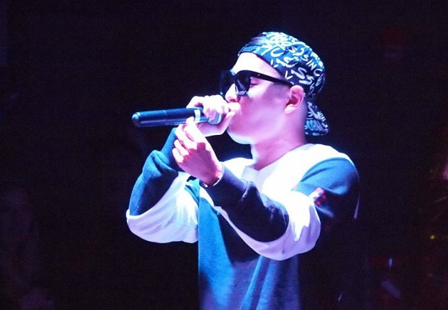 Simon Dominic during an event in November 2014
