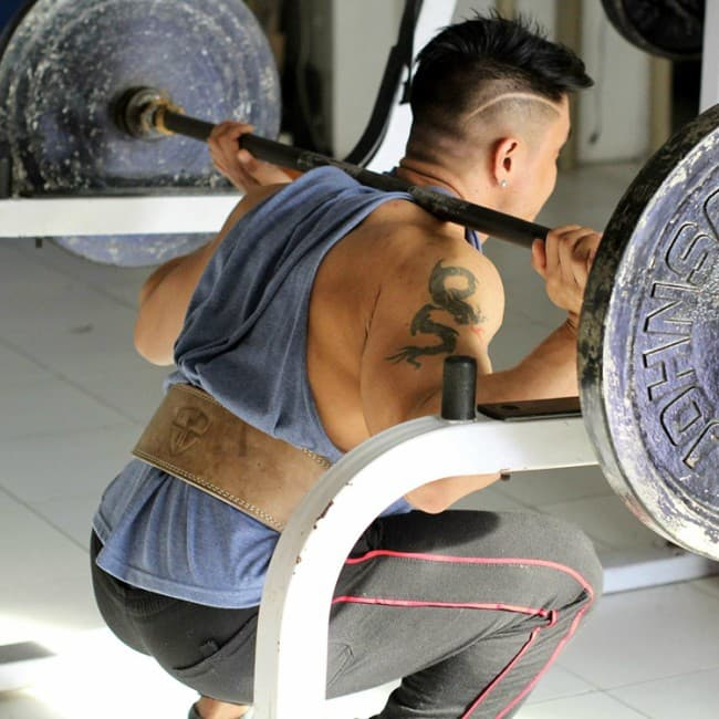 Steel Sweat Weight Lifting Belt Workout