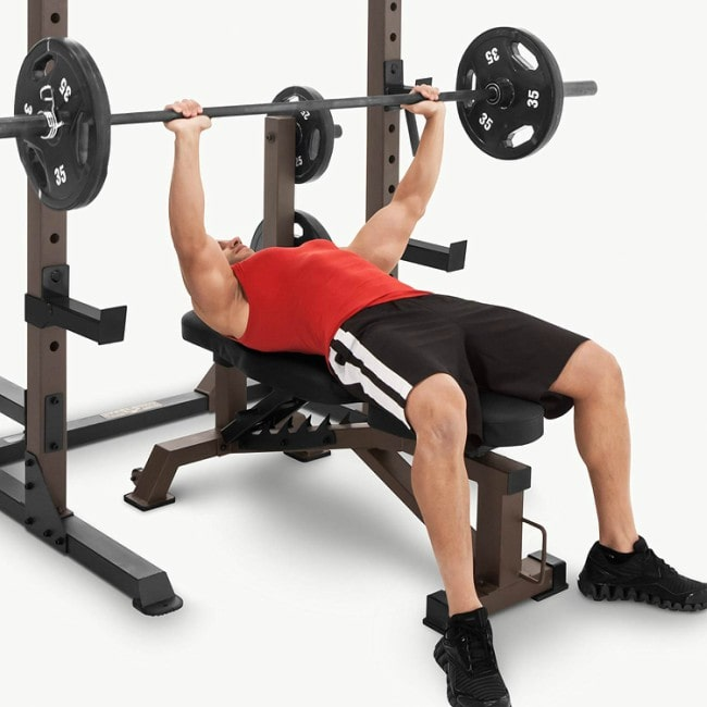 Steelbody Deluxe Utility Weight Bench Workout