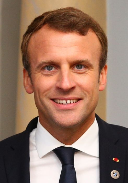 The 25th President of France Emmanuel Macron