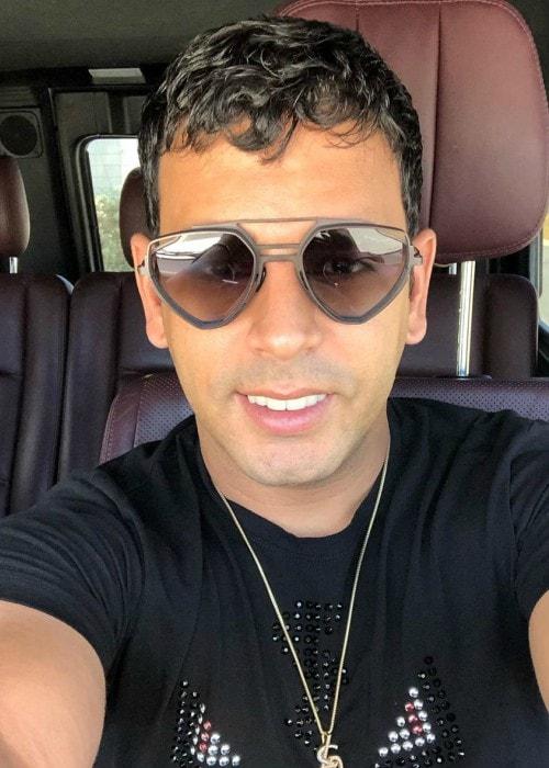 Tito El Bambino in an Instagram selfie as seen in August 2019