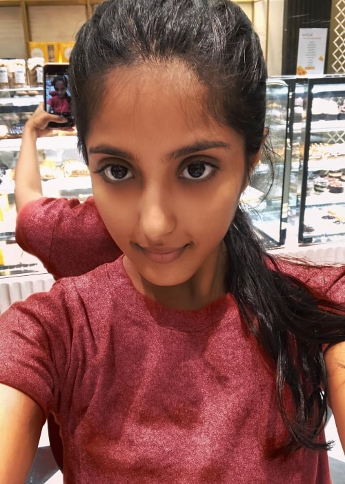 Ulka Gupta as seen in a selfie taken in April 2019
