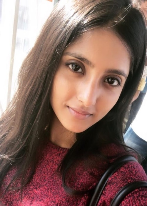 Ulka Gupta as seen in a selfie taken in March 2019