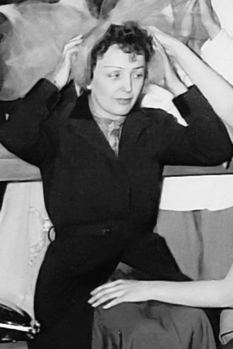 Édith Piaf as seen in 1951