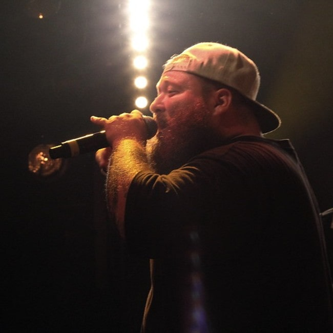 Action Bronson performing live in Paris as seen in July 2013
