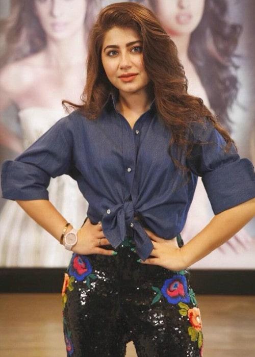 Aditi Bhatia as seen in August 2019