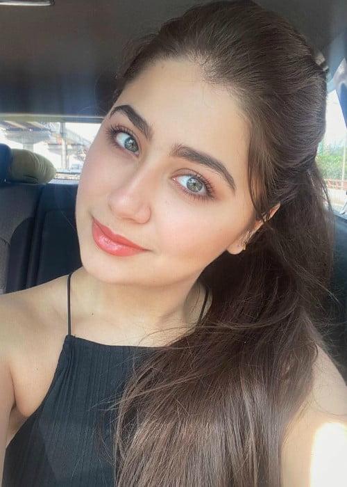 Aditi Bhatia in an Instagram selfie as seen in November 2019