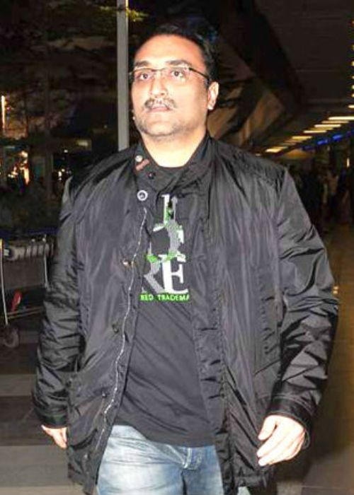 Aditya Chopra pictured while returning from vacation in July 2012