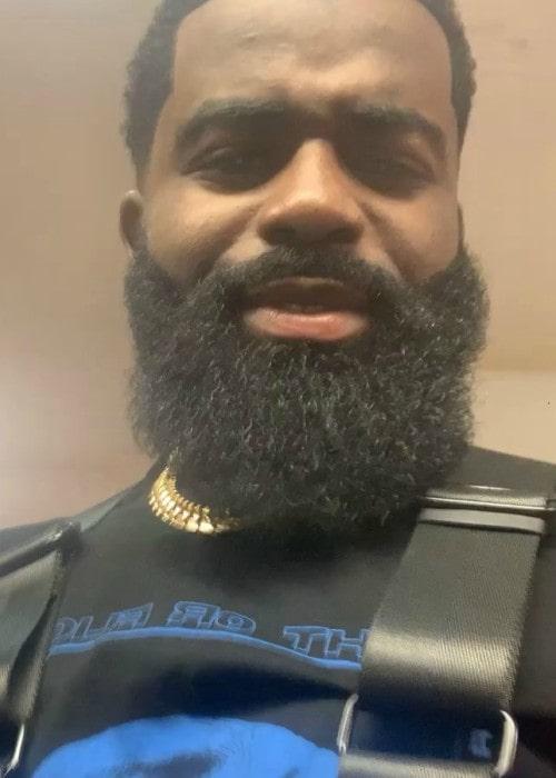 Afro B in an Instagram selfie as seen in November 2019