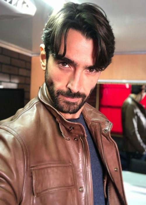 Aitor Luna in a selfie in October 2019