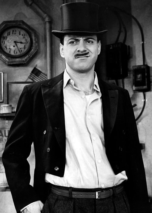 Alan Arkin as seen in a picture taken during the Broadway play, Enter Laughing in 1963