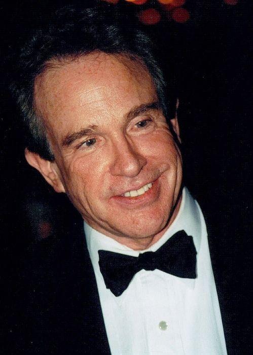 American actor and director Warren Beatty