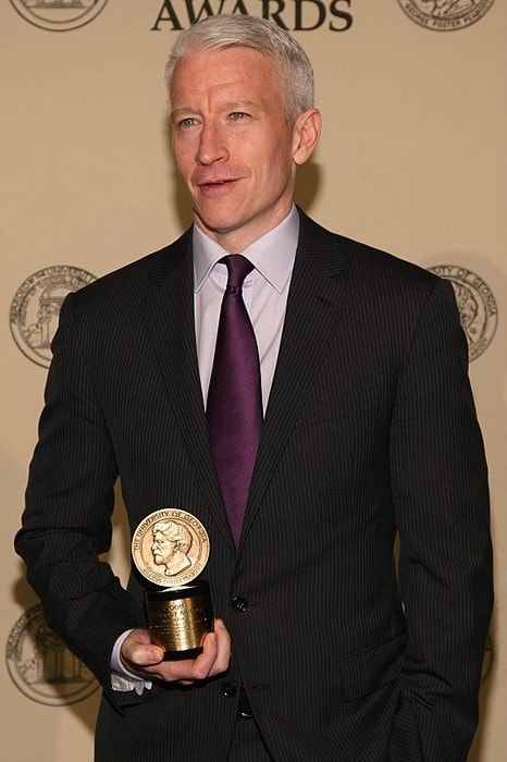 Anderson Cooper at the 71st Annual Peabody Awards Luncheon in May 2012