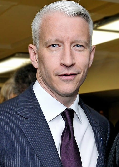 Anderson Cooper during an event in May 2010