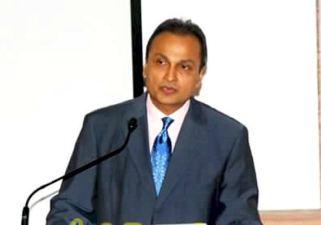 Anil Ambani at the launch of Kokilaben Dhirubhai Ambani Hospital in January 2009