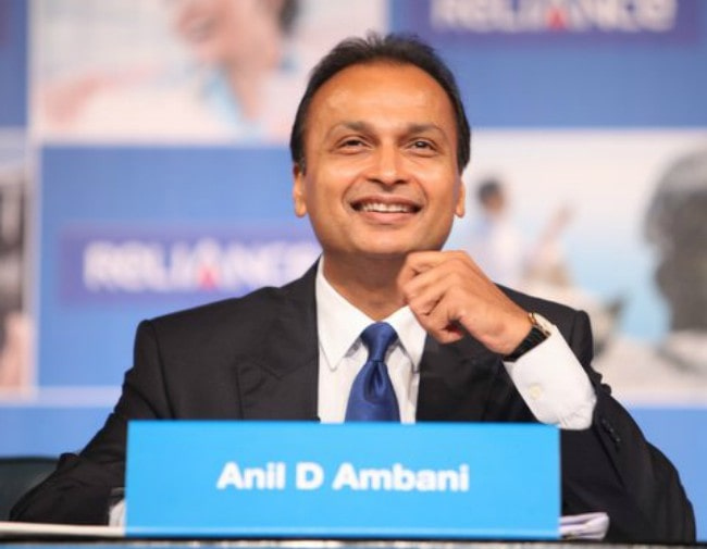 Anil Ambani during 2012 Reliance Group AGM at Mumbai