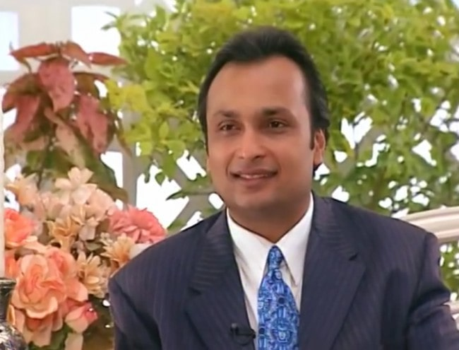Anil Ambani during an interview on the talk show, Rendezvous with Simi Garewal