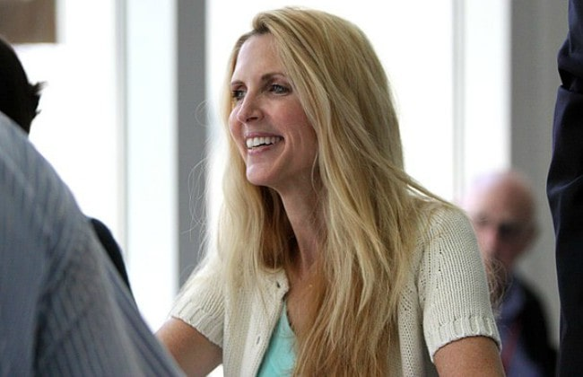 Ann Coulter during an event in September 2011