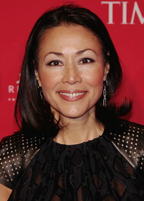 Ann Curry at the 2012 Time 100 gala